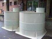 Földbe helyezhető tároló tartály, 3 m³